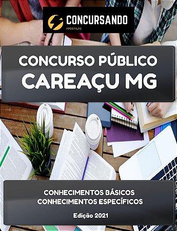 APOSTILA PREFEITURA DE CAREAÇU MG 2021 PROFESSOR DE EDUCAÇÃO BÁSICA