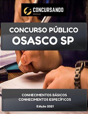 APOSTILA PREFEITURA DE OSASCO SP 2021 OFICIAL DE ESCOLA