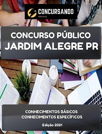 APOSTILA PREFEITURA DE JARDIM ALEGRE PR 2021 AGENTE DE CONTROLE DE ENDEMIAS