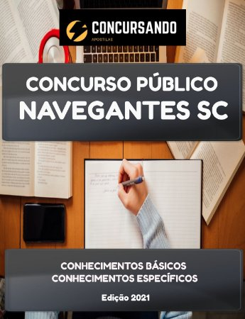 APOSTILA PREFEITURA DE NAVEGANTES SC 2021 MOTORISTA SOCORRISTA SAMU
