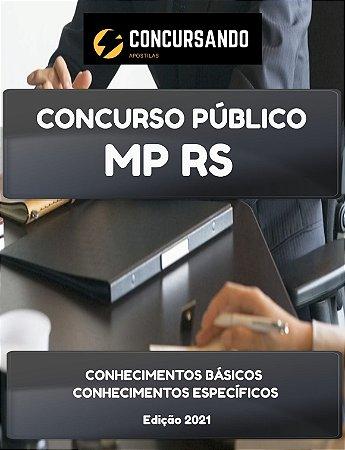 APOSTILA MP RS 2021 TÉCNICO DO MINISTÉRIO PÚBLICO