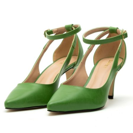Scarpin Slingback Verde