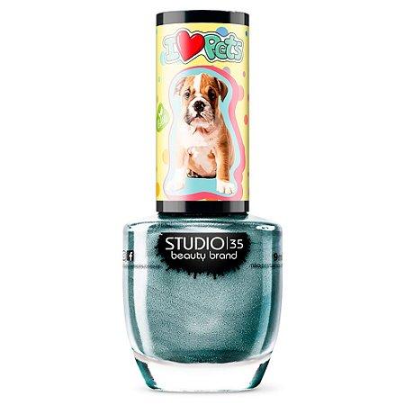 Esmalte Vegano Studio 35 bulldoggordinho - Coleção ILovePets