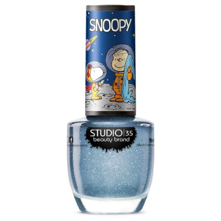Esmalte Studio 35 #SnoopyNoMundoDaLua - Coleção Snoopy