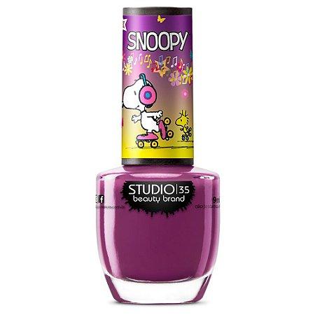 Esmalte Studio 35 #SnoopyPatinador - Coleção Snoopy