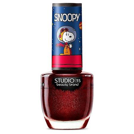 Esmalte Fortalecedor Studio 35 #SpaceSnoopy - Coleção Snoopy