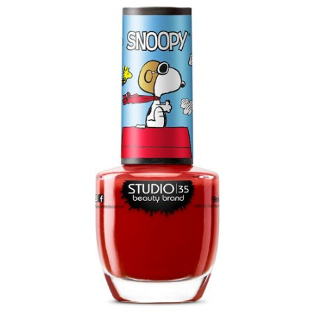 Esmalte Studio 35 #SnoopyFlying - Coleção Snoopy