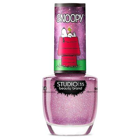 Esmalte Studio 35 #SnoopyEasEstrelas - Coleção Snoopy