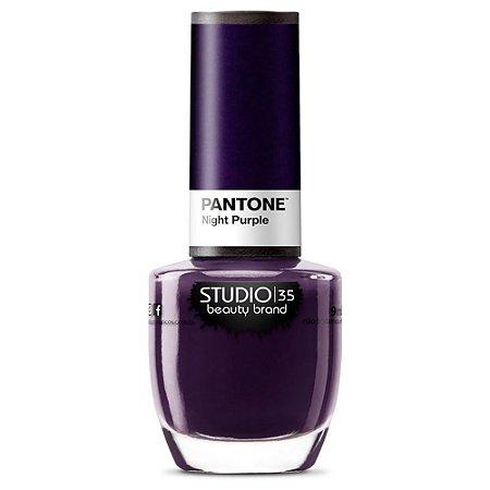 Esmalte Fortalecedor Studio 35 Night Purple - Coleção Pantone