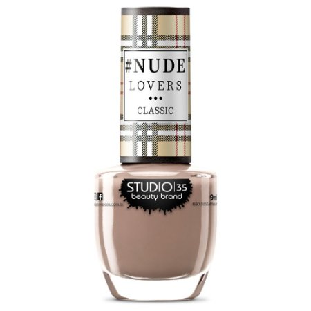 Esmalte Fortalecedor Studio 35 #ToqueDeNude - Coleção #NudeLoversClassic