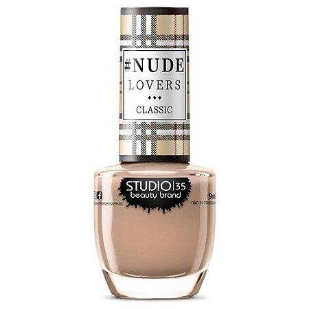 Esmalte Fortalecedor Studio 35 #NudeQueBrilha - Coleção #NudeLoversClassic