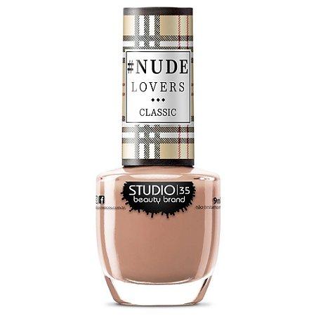 Esmalte Fortalecedor Studio 35 #TerraNude - Coleção #NudeLoversClassic
