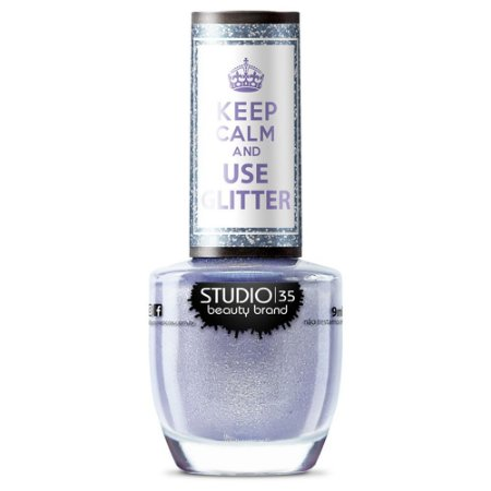 Esmalte Studio 35 #SonhoDeGlitter - Coleção Use Glitter