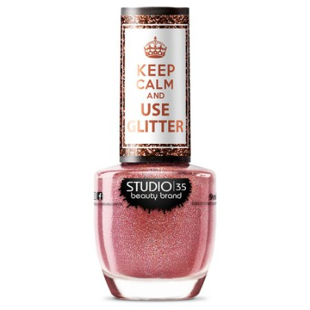 Esmalte Studio 35 #VaiComTudo - Coleção Use Glitter