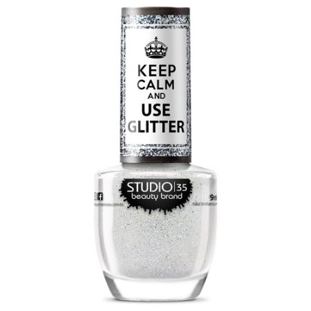 Esmalte Studio 35 #CristaisDeGelo - Coleção Use Glitter