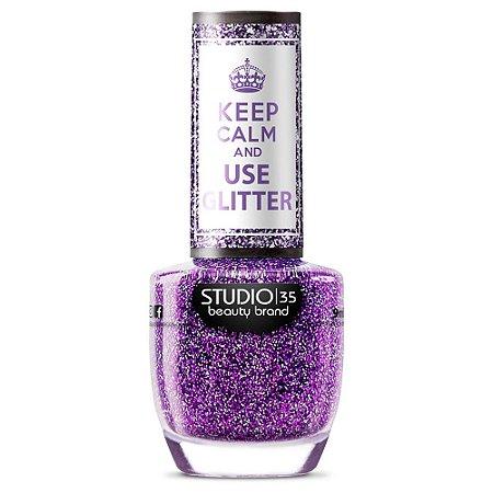 Esmalte Studio 35 #ComoEuQuero - Coleção Use Glitter
