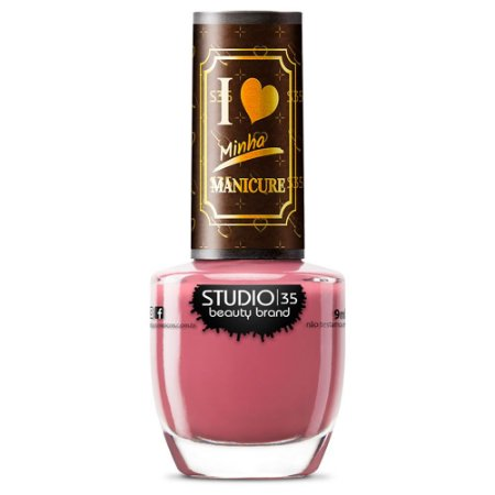 Esmalte Studio 35 #JessicaHeroina - Coleção I Love Minha Manicure