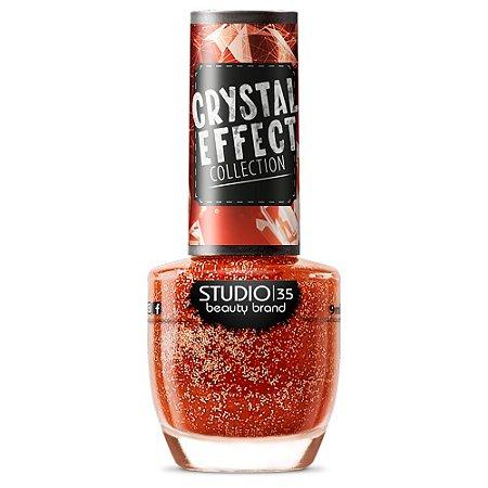 Esmalte Studio 35 #ToDeBoa - Coleção Crystal Effect