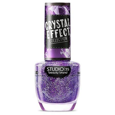Esmalte Fortalecedor Studio 35 #AtraçãoCosmica - Coleção Crystal Effect