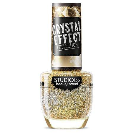 Esmalte Fortalecedor Studio 35 #NãoOfuscaMeuBrilho - Coleção Crystal Effect