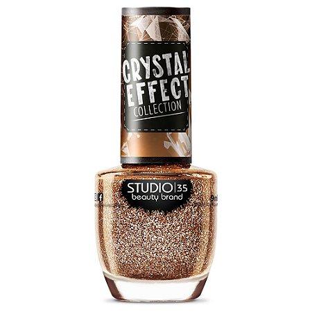 EsmalteStudio 35 #VouBrilhar - Coleção Crystal Effect