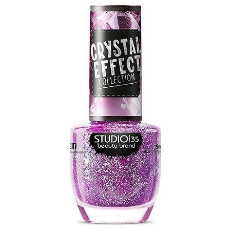Esmalte Studio 35 FadaMadrinha - Coleção Crystal Effect
