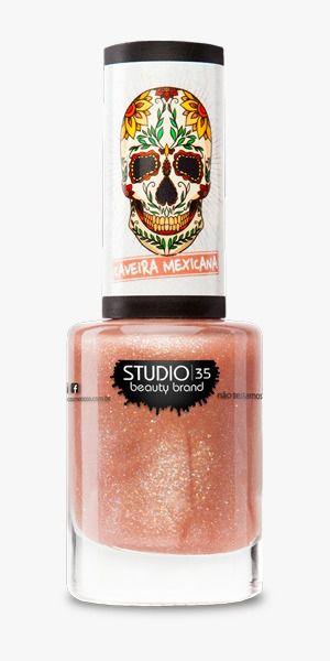 Esmalte Studio 35 #VivaLaVida - Coleção Caveira Mexicana