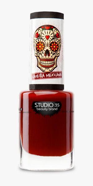 Esmalte Studio 35 #SímboloSagrado - Coleção Caveira Mexicana