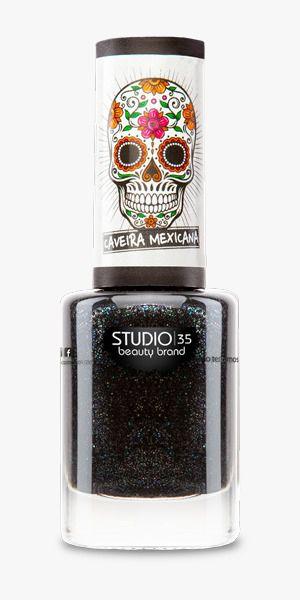 Esmalte Studio 35 #Renovação - Coleção Caveira Mexicana