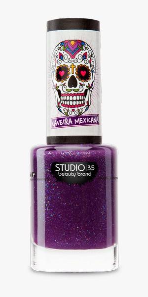 Esmalte Fortalecedor Studio 35 #CelebreaVida - Coleção Caveira Mexicana