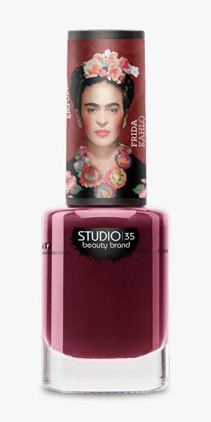 Esmalte Fortalecedor Studio 35 #PerguntaPrimeiro - Coleção Frida Kahlo