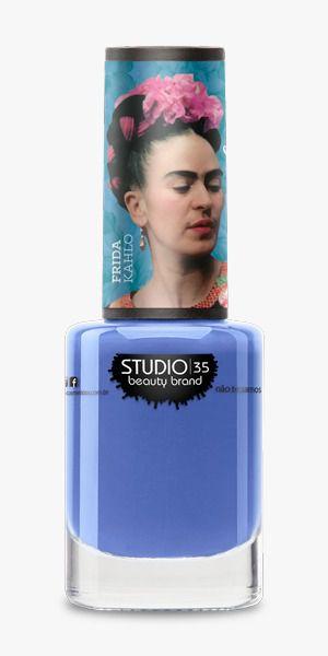 Esmalte Fortalecedor Studio 35 #VaiPraCima - Coleção Frida Kahlo