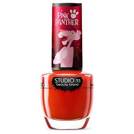 Esmalte Studio 35 #PanteraAudaciosa - Coleção Pantera Cor de Rosa