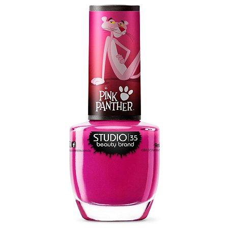 Esmalte Studio 35 #PanteraMisteriosa - Coleção Pantera Cor de Rosa