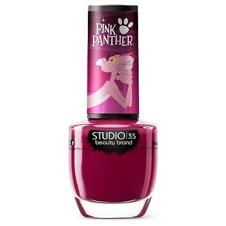 Esmalte Fortalecedor Studio 35 #PanteraSedutora - Coleção Pantera Cor de Rosa