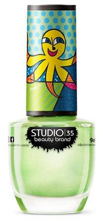 Esmalte Fortalecedor Studio 35 #AqueleAbraço - Coleção Romero Britto