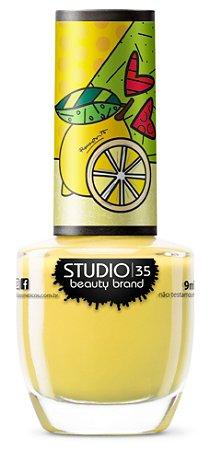 Esmalte Vegano Studio 35 #AzedinhoTropical- Coleção Romero Britto