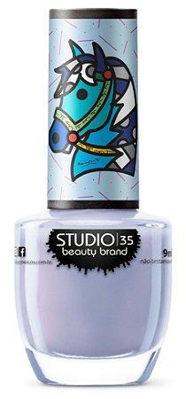 Esmalte Fortalecedor Studio 35 #XequeMate - Coleção Romero Britto