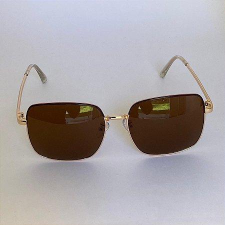 Óculos Léo - Marrom