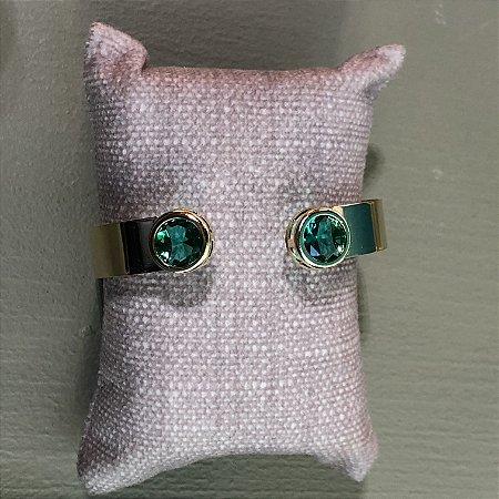 Bracelete Ponto de Luz - G - Paraíba Verde