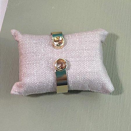 Bracelete Ponto de Luz - Morganita