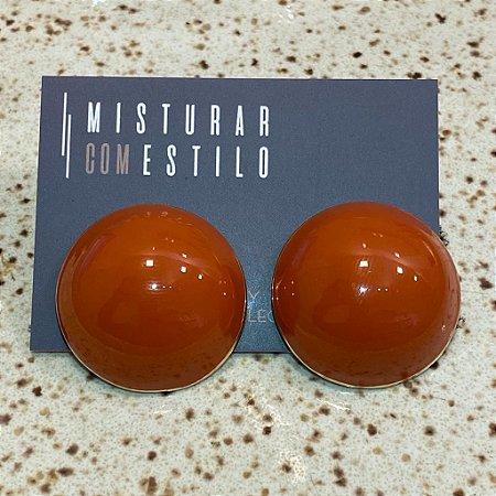 Brinco Bolão Sevilha - Terracota