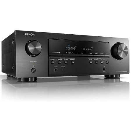Receiver AVR S540BT 5.2 Canais HDMI Bluetooth Denon