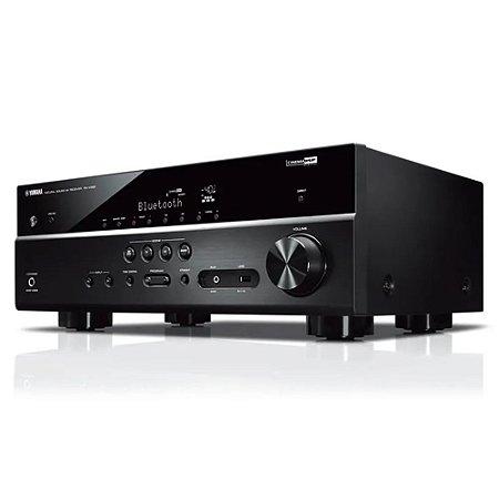 Receiver A/V RX-V385 5.1 Canais UltraHD Bluetooth Yamaha