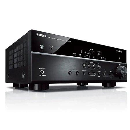Receiver A/V RX-V485 5.1 Canais 4K WiFi Bluetooth Yamaha