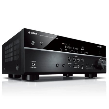 Receiver A/V RX-V585 7.2 Canais 4K WiFi Bluetooth Yamaha