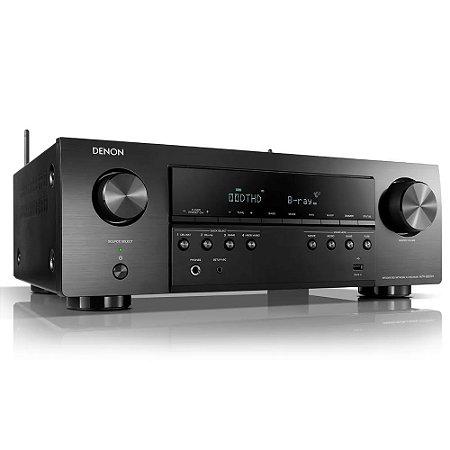 Receiver AVR-S650H 5.2 Canais WiFi 4K UltraHD Bluetooth Denon