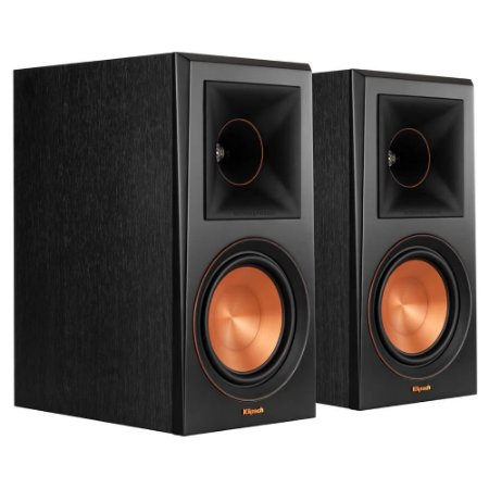 """Caixas Acústicas 6,5"""" Bookshelf RP-600M Klipsch"""