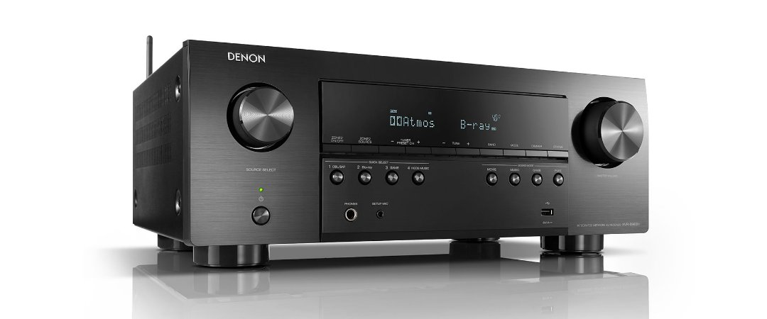 Receiver Denon AVR-S960H 7.2 Canais Wi-Fi 8K HDR10 Bluetooth