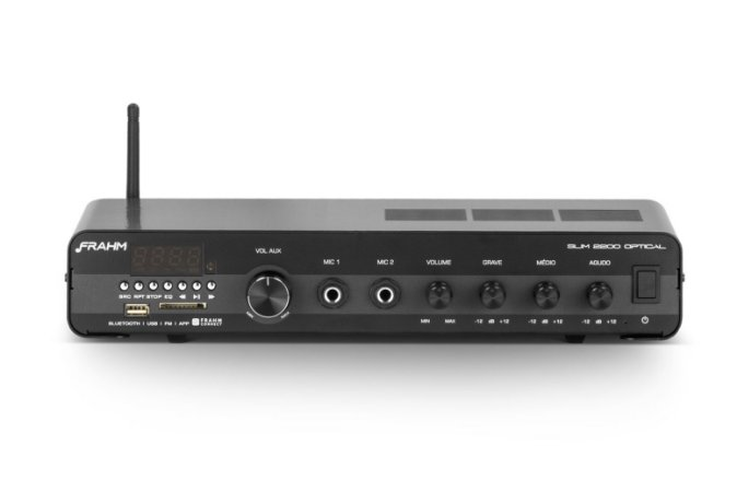 Amplificador Frahm SLIM 2200 OPTICAL